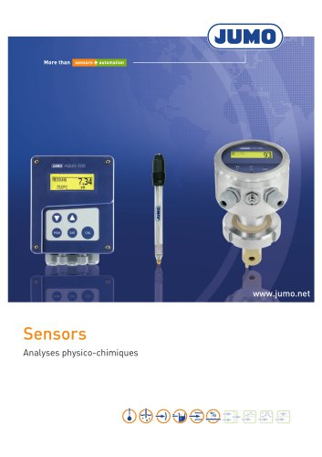Sensors - Analyses physico-chimiques