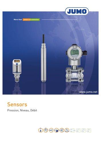 Sensors - Pression, Niveau, Débit
