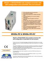 MI400e-RD & MI400e-RD-DC