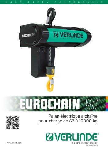 PALAN ELECTRIQUE A CHAINE EUROCHAIN VR