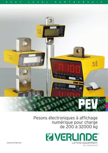 PEV Pesons électroniques