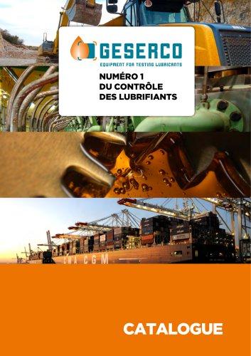 Catalogue Produits GESERCO