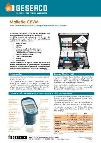 CEVM Test Kit
