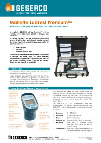 LubTest Premium