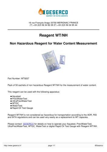 Reagent WT/NH