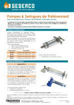 Sampling syringe
