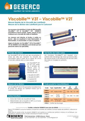 ViscobilleTM V3T – ViscobilleTM V2T