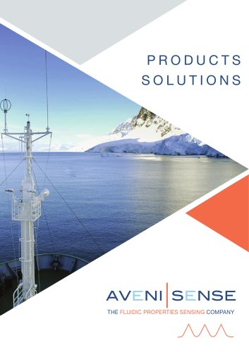 AVENISENSE_Products and Solutions overwiev