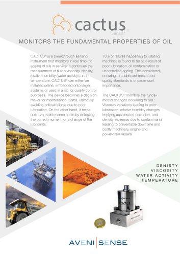 CACTUS_oil condition monitoring