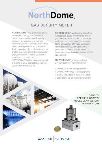 NORTHDOME_gas density meter