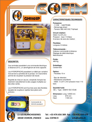 GROUPE HYDRAULQIUE