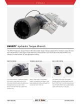 AVANTI Square Drive Hydraulic Torque Wrench