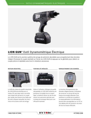 LION GUN® Outil Dynamométrique Électrique