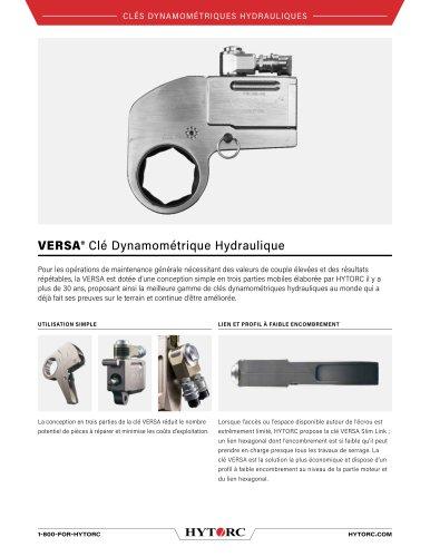 VERSA® Clé Dynamométrique Hydraulique