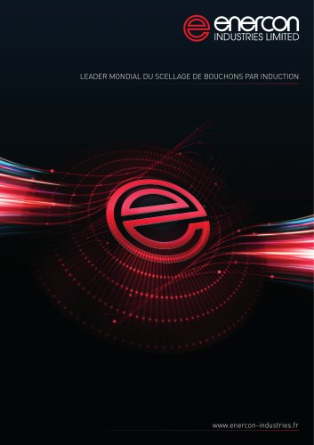 Brochure Enercon – Thermoscellage par Induction