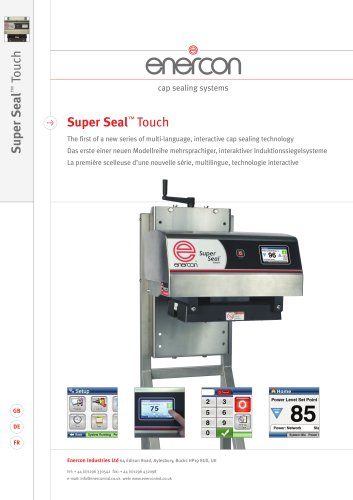 Super Seal Touch Induction Sealer