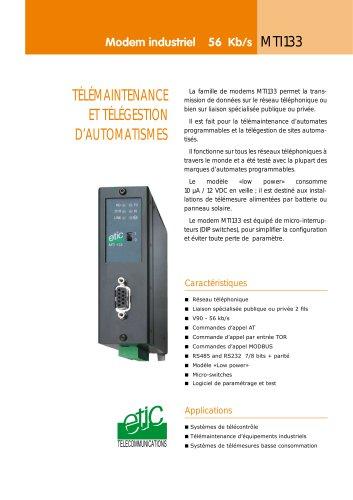 Modem industriel RTC MTI 133