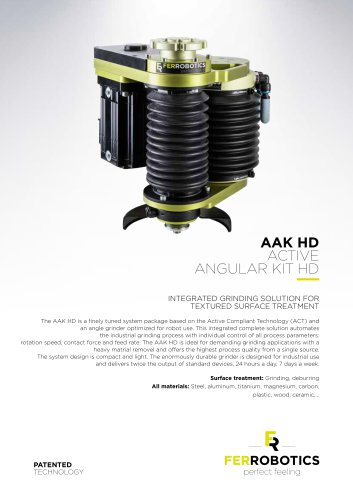 AAK HD - Active Angular Kit HD