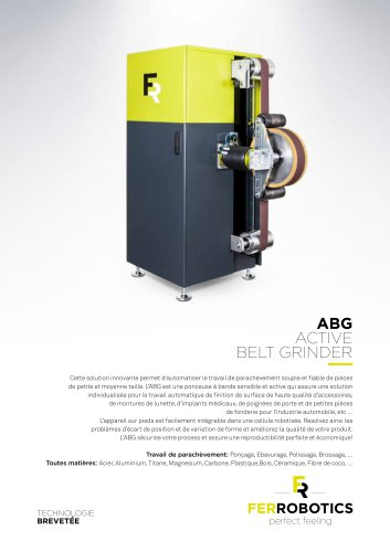 ABG - Active Belt Grinder