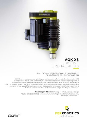 AOK XS - Active Orbital Kit XS