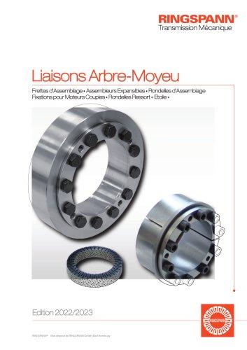 Liaisons Arbre-Moyeu SIAM RINGSPANN : Frettes d'assemblage, Assembleurs expansibles, Rondelles d'assemblage