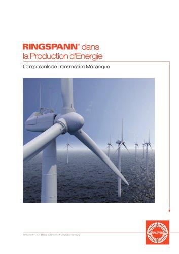 SIAM RINGSPANN : Composants de Transmission Mécanique