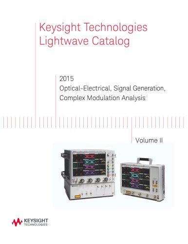 2015 Optical-Electrical, Signal Generation, Complex Modulation Analysis