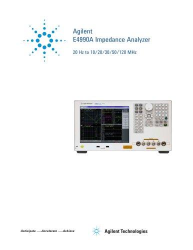 Agilent E4990A Impedance Analyzer
