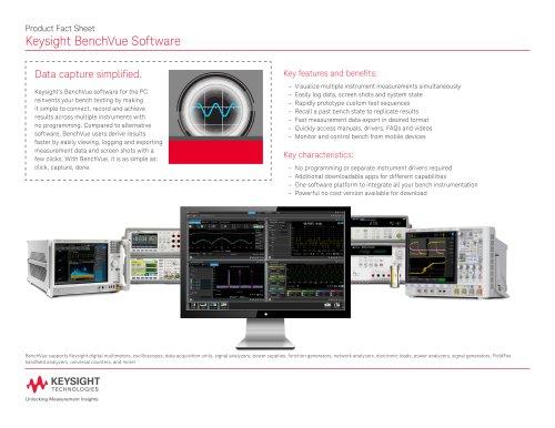 BenchVue Software
