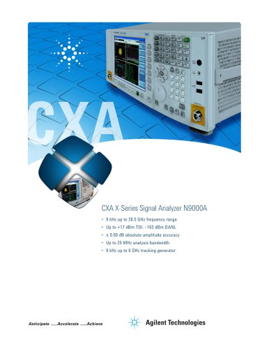 CXA X-Series