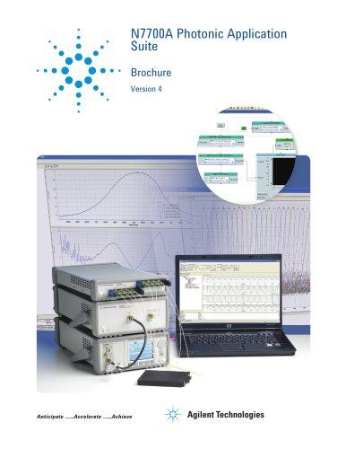 N7700A Photonic Application  Suite