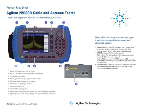 N9330B Cable and Antenna Tester