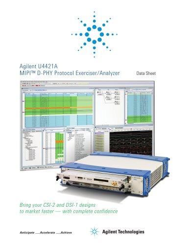 U4421A MIPI? D-PHY Protocol Exerciser/Analyzer