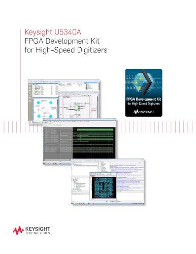 U5340A FPGA Development Kit for High-Speed Digitizers