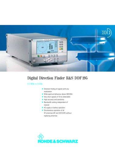 Digital Direction Finder R&S DDF195