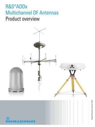 R&S®ADDx Multichannel DF Antennas