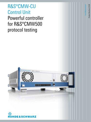 R&S®CMW-CU Control Unit