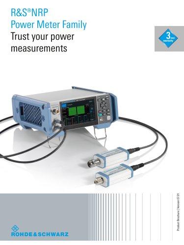 R&S®NRP Power Meter Family