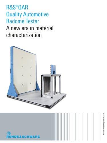 R&S®QAR Quality Automotive Radome Tester