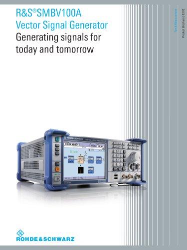 R&S®SMBV100A Vector Signal Generator
