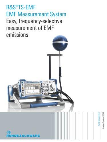 R&S®TS-EMF EMF Measurement System