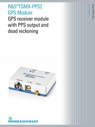 R&S®TSMX-PPS2 GPS Module