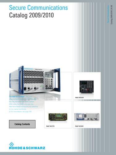 Secure communication Catalog