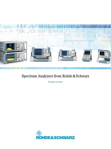 Spectrum Analyzers from Rohde & Schwarz