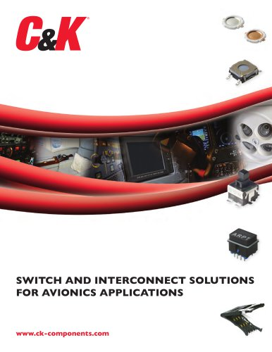 SWITCH AND INTERCONNECT SOLUTIONS FOR AVIONICS APPLICATIONS
