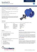 DensiCheck Tx: High accuracy, continuous liquid concentration measurement.