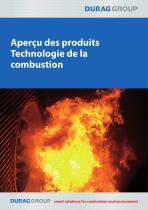 DURAG Apercu des produitsTechnologie de la combustion