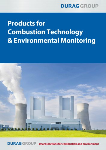 DURAG GROUP Products for Combustion Technology & Environmental Monitoring
