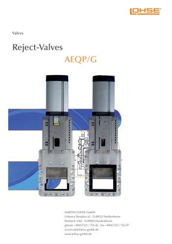 Reject-Valve AEQ