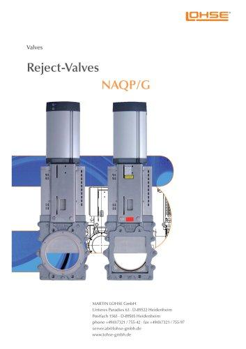 Reject-Valve NAQ